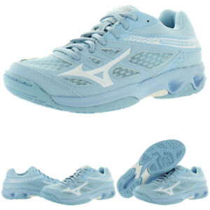 Mizuno-Womens-Thunder-Blade-Low-Top-Non-Marking-Sneakers-Shoes-BHFO-9051