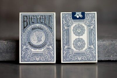 Bicycle Federal 52 Part 2 Silver Certificate Playing Cards New Numbered Sealed