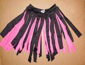 NWOT-2-color-Pink-Black-CARWASH-TAP-JAZZ-DANCE-SPANDEX-SKIRT-CHILD-ADULT-SIZES