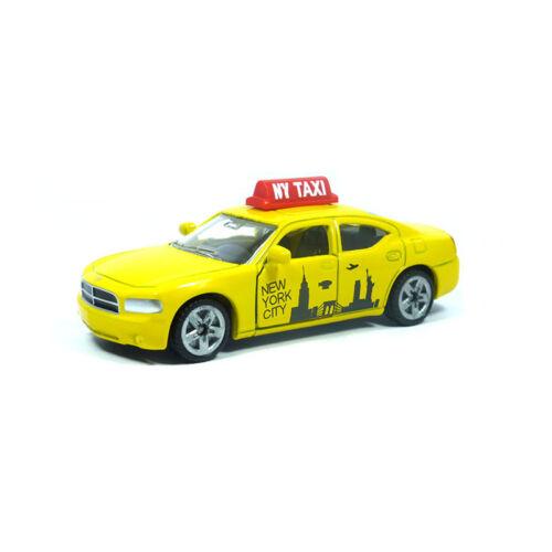 blister ° nuevo Siku 1490 Dodge Charger us taxi amarillo escudo rojo