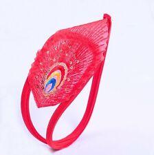 C-string c string burlesque rouge red tulle sequin doré motif ornemental exotic