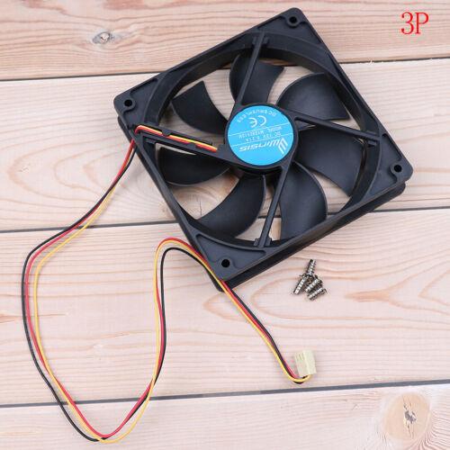 Computer case cooler 12v 12cm 120mm pc cpu cooling cooler fan 2.54//3//4pi SL