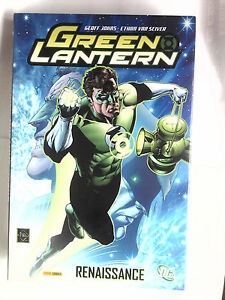 GREEN-LANTERN-RENAISSANCE-E-Van-Sciver-G-Johns-DC-Panini-France-192-pages