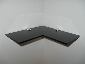 black corner shelf acrylic safety corner shelf 220mm bathroom rh ebay co uk