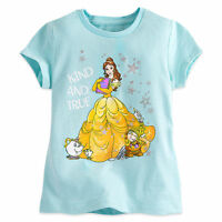 Disney Store Tee For Girls Belle And Friends T Shirt Pick Size
