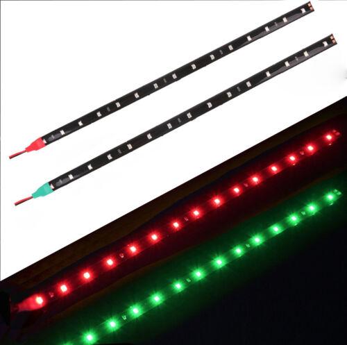 5x Red+Green Submersible Navigation Light Waterproof Marine Boat 12V LED Strips