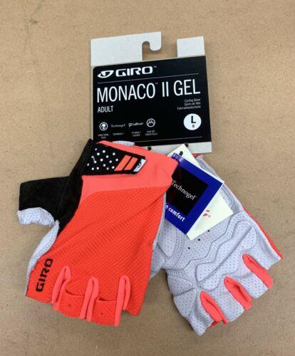 Giro Monaco II Gel Taille L Cyclisme Gants neuf avec étiquettes