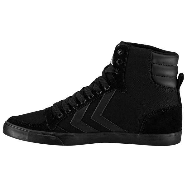Hummel Slimmer Stadil Tonal High Top Sneaker Freizeit Schuhe black 64-465-2001