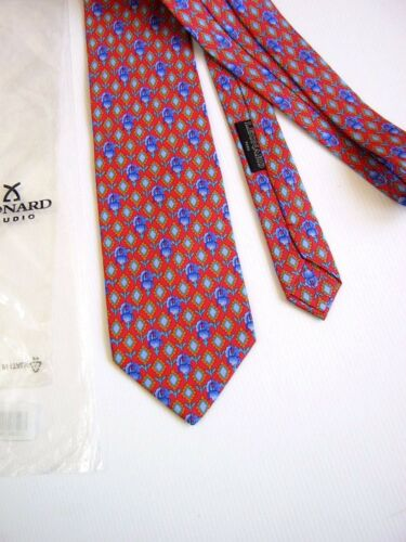 Leonard Silk Nuova Made In 006 Dessin Originale Paris New Italy vBvqRr