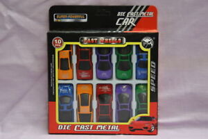10-piece-Set-Die-Cast-Metal-Fast-Wheels-Toy-Super-Cars-Various-Styles-Colours