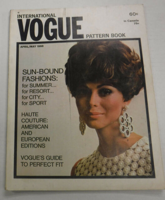 Vogue Pattern Book Magazine Sun Bound Fashions April/May 1968 081315R