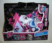 Monster High Goth Gothic Girls Purse Shoulder Bag & 3/100-pc Puzzle Pack