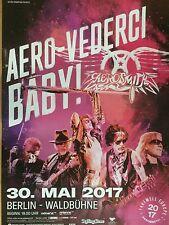 AEROSMITH  2017 BERLIN  ++ orig.Concert Poster ++ Konzert Plakat  A1 NEU