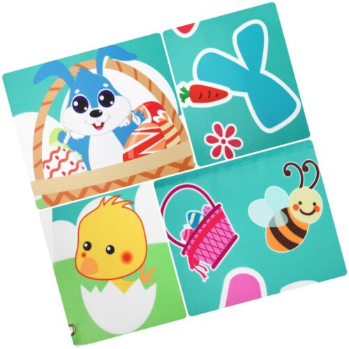 Details about  /Amosfun Happy Easter Porch Signs Welcome Easter Banner Decorations Easter Out...