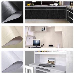 Details zu 5M Selbstklebende Folie Tapete Klebefolie Küche Möbel Tür  Möbelfolie Holz