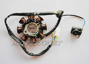 new stator magneto 8 coil for gy6 150cc chinese scooter