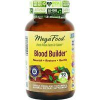 Mega Food Blood Builder. 90 Tablets. Factory Sealed. Expires May 2020