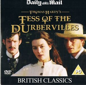 Tess-of-the-D-039-Urbervilles-1998-Justine-Waddell-Jason-Flemyn-DVD-N-Paper