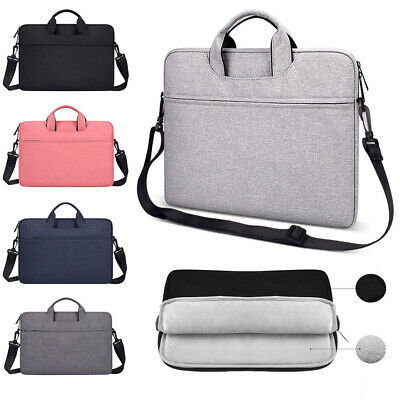 Laptop Shoulder Bag 13-13.3 Inch ATAILORBIRD Notebook Shoulder Messenger Protective Bag Water-Repellent Satchel with Handle for Ultrabook Tablet Cover Case Black