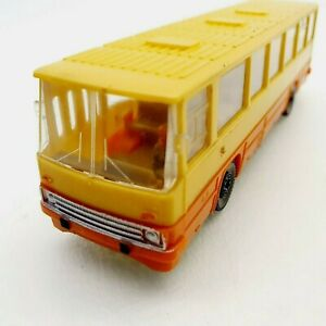 Vintage-Hungarian-Ikarus-260-toy-bus-car-coach-1970-039-s-RARE