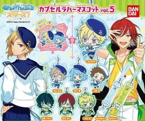 NEW Bandai Ensemble Stars Switch Sora Harukawa Capsule Gashapon Rubber Keychain