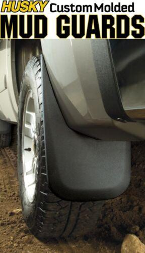Husky 57911 Heavy Duty Rear Custom Mud Guards Flaps 07-13 Toyota Tundra Truck
