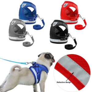 Leash-Breathable-Puppy-Vest-Collar-Pet-Traction-Rope-Chest-Strap-Dog-Harness