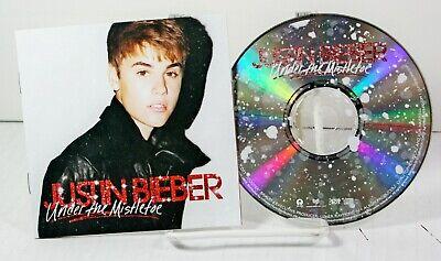 Justin Bieber Under the Mistletoe Music CD Christmas Feat. Busta Rhymes Usher | eBay