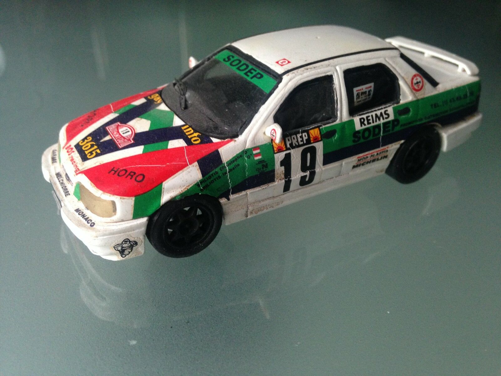 1/43 KIT TRON FORD SIERRA N 19 SPILIOTIS Rally WRC MONTE CARLO 1992 MONTECARLO