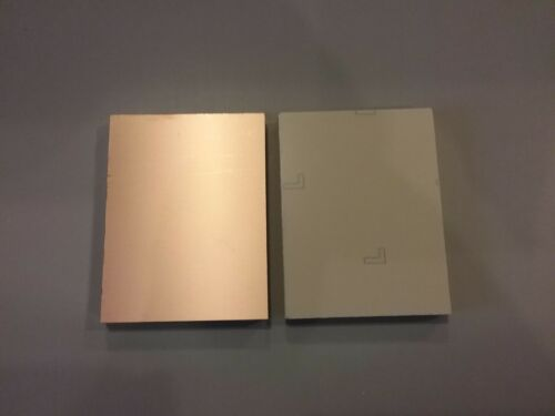 3 pcs Single Sided Copper Clad Laminate Circuit Boards CEM-1 4 x 5 .060 1 oz.
