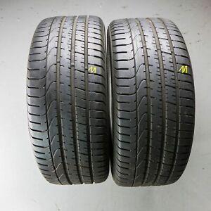 2x-Pirelli-P-Zero-AO-245-45-r18-100y-Dot-3916-5-mm-pneus-d-039-ete