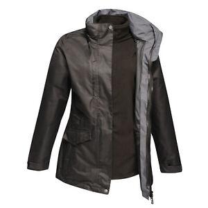 Regatta Professional Womens Benson III 3 In 1 Waterproof Windproof Zip Up Jacket