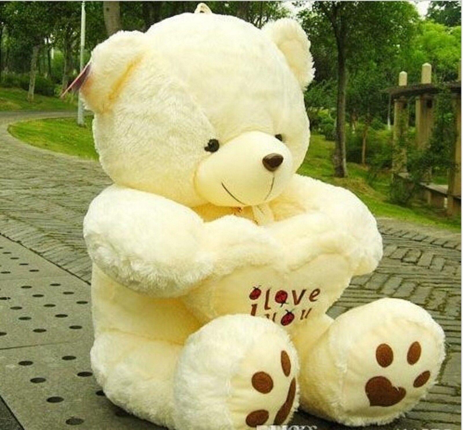 a653f400160e 50cm Giant Large HUGE Big Teddy Bear Soft Plush Kid Toys Doll Xmas Birthday  Gift for sale online