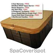 "Premium Hot Tub Covers - 4"" to 2"" Taper - FREE Shipping - BEST Spa Covers"