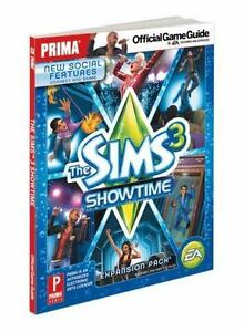 The sims 3 showtime: prima official game guide by rebecca de.