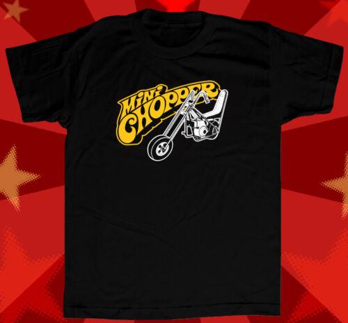 Mini Bike Chopper Vintage Style T Shirt Muscle Car Rat Rod Hot Rod Rupp Taco