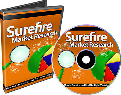 How to Examine and Find The Right Markets- Video Tutorials on 1 CD