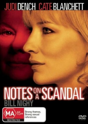 1 of 1 - Notes On A Scandal (DVD) Region 4 Very Good Condition