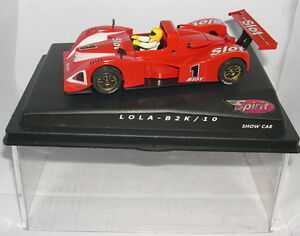 Spirit Slot Car Lola B2k / 10 # 1 Spectacle Mas Lted.ed Mb