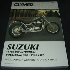 Repair Manual Suzuki Intruder VS 700 - 800 Boulevard S50 1985 - 2007 Maintenance