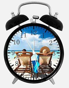 Image Is Loading Beach Alarm Desk Clock 3 75 034 Home