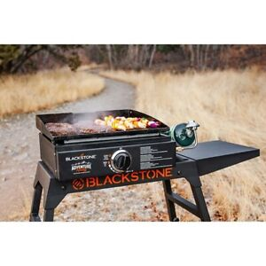 Outdoor Propane Gas Griddle Grill Tabletop Camping Picnic BBQ Portable Barbecue