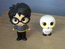 Funko Pop Harry Potter Mini Mystery Pop LOT OF 2 - HARRY POTTER & HEDWIG