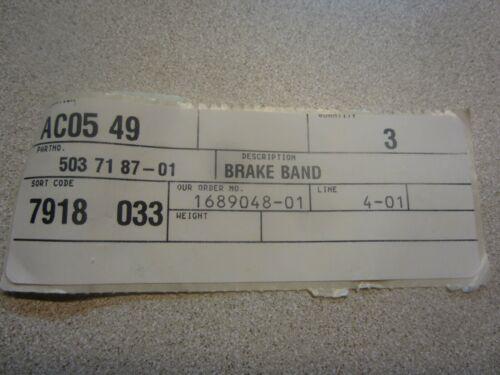 Husqvarna 5037187-01 Brake Band 503718701