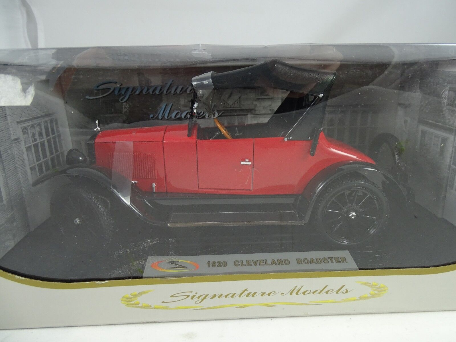 1 18 Signature  Cleveland Roadster red   - RARITÄT §