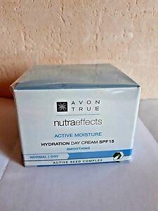 AVON-nutra-effects-Active-moisture-borracce-gel-crema-con-LSF-SPF-15-50ml-NUOVO