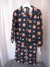 Small Paul By Paul Frank Infant Girl's 2 Piece Pajama Set Top/Pant Sz 4T NWWT