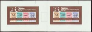 Ghana-1978-Wright-Brothers-First-Airplane-Concorde-SS-perforated-proof-pair