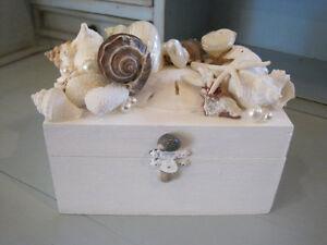 Beach Decor Seashell Jewelry Box Jewelry Box Shell Jewelry Box