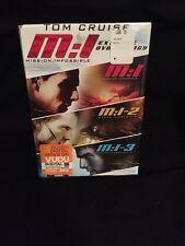 M : I  MISSION IMPOSSIBLE EXTREME TRILOGY - 3 DVD BOX SET -TOM CRUISE - RARE